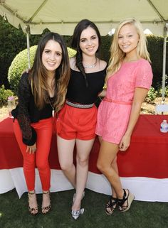 Laura Marano, Vanessa Marano, and Olivia Holt - Imagine LA Party in Burbank