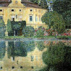 Castle Kammer at Attersee IV, 1910 - Gustav Klimt