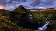 Evening at Kirkjufell - another view on the famous mountain