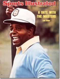 Lee Elder, first black golfer to play in the Masters
