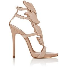 57448c4e7b03 Giuseppe Zanotti Women s Cruel Sandals Nude Heeled Sandals
