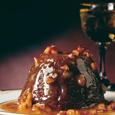 A picture of Delia's Little Sticky Toffee Puddings with Pecan Toffee Sauce recipe