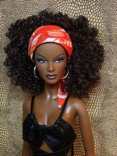 Pin It: Awesome, Funky & Fabulous Afro Black Doll Images, black barbie, black dolls, African Dolls, African American Dolls, Beautiful Barbie Dolls, Pretty Dolls, Barbie Life, Barbie World, Back Home, Diva Dolls, Dolls Dolls