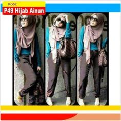 hijab remaja modern ainun p49