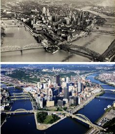 How Pittsburgh has changed over the last several decades.