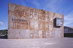 Kulturfabrik Kofmehl / ssm Architekten  #Corten #architecture