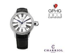 Lady Colvmbvs ™ Diamond watch nominated for Grand Prix d'Horlogerie de Genève Grand Prix, Swiss Luxury Watches, Charriol, Lady, Watches For Men, Diamond, Accessories, Jewelry, Clock Art