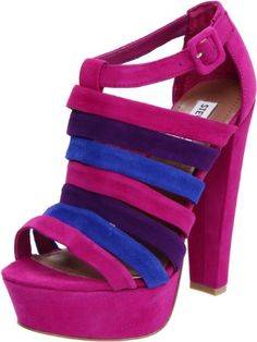 Steve Madden Womens Audrinaa Platform SandalRaspberry Suede75 M US *** Read more  at the image link.
