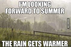 Inspired by Met Éireann's 'good drying' weather report, here's a collection of Irish weather memes covering all four seasons in one day. Rain Meme, Summer In Ireland, Ireland Holiday, Starwars, Irish Weather, Uk Weather, Funny Weather, Texas Weather, Weather Rain