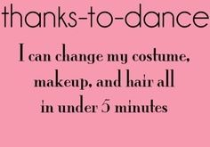 Don't forget we can also shower in under 2! #Thanks to dance