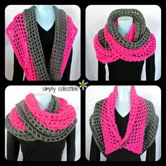 Free pattern - Coraline in San Francisco cowl wrap - Crochet creation by Simply Collectible - Celina Lane