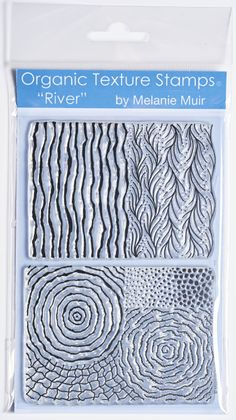 Organic Texture Stamp/Sheet - 'River' - In Stock - £9