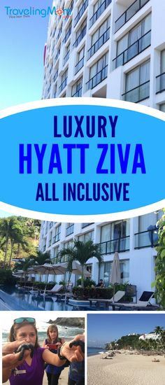 The Hyatt Ziva Puerto Vallarta luxury all inclusive is a family friendly hotel on the beach in Mexico. Great food, gorgeous beach, friendly service and baby turtles in the fall and whales in the winter! Mexico Vacation Spots, Dream Vacation Spots, Mexico Resorts, Mexico Travel, Vacation Trips, Vacation Travel, Vacation Ideas, Travel Destinations, Puerto Vallarta Resorts