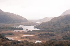 Ladies' View along the Ring of Kerry in southwestern Ireland. A gorgeous and expansive view.