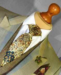 The Garden of England' tie. Available now at www.brotherandgent.com