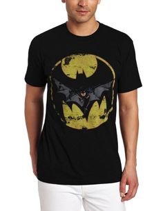 d14c46f2300 Amazon.com  Kinetix Men s Batman Launch Tee  Clothing