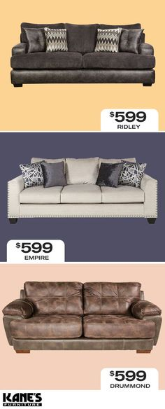 No Need To Break The Bank Getting A New Sofa Kane S Has Large Variety