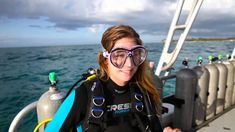 Editors try out Cressi's aquaride pro BC, air mask and newton computer. See what our editors thought of this new gear while diving at Stuart Cove's Dive Baha. Scuba Girl, Diving Suit, Womens Wetsuit, Snorkeling, Suits, Sunglasses, Sexy, Womens Fashion, Girls