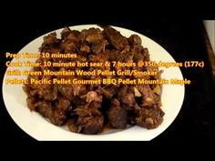 Twested Piggy Burnt Ends on The Green Mountain Grill