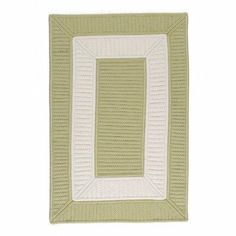 Collection 14 Celery Rug Rug Size: 5' x 7' by Colonial Mills. $272.61. CB96R060X084S Rug Size: 5' x 7' Features: -Technique: Braided / Cablelock.-Material: 100pct Polypropylene.-Origin: United States.-Indoor / Outdoor.-Reversible.-Stain and Fade Resistant. Construction: -Construction: Handmade. Color/Finish: -Primary Color: Celery.-Secondary Color: White. Dimensions: -Pile height: 0.5''.-Overall Dimensions: 34-168'' Height x 22-132'' Width. Collection: -Collection: ...