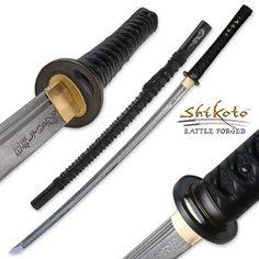 Shikoto Yoru Doragon Heat Forged Katana Sword | True Swords