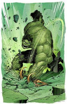 Hulk Smash del buen Rulo Treviño... visitenlo en trevinoart.com
