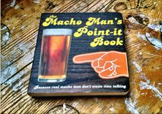 Fancy - The Macho Man's Point-it Book