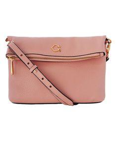 7b84d6f87c4 C. Wonder C. Wonder Pebble Leather Foldover Crossbody Handbag