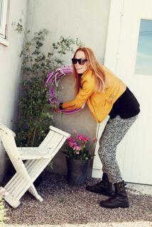 Me in action:-) / Miss Garden Glory