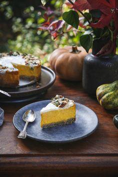 Tekvicový cheesecake - The Story of a Cake Winter Wonderland, Food Photography, Cheesecake, Health Fitness, Hokkaido, Cheesecakes, Fitness, Cherry Cheesecake Shooters, Health And Fitness