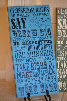 house rules idea