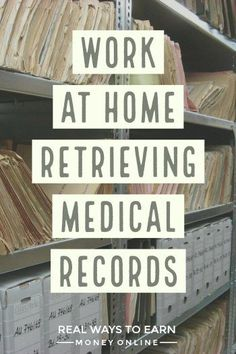 at home retrieving medical records for Parameds. Flexible work at home for those with administrative skills. via at home retrieving medical records for Parameds. Flexible work at home for those with administrative skills. Ways To Earn Money, Earn Money From Home, Money Saving Tips, Way To Make Money, Earn Money Online, Online Jobs, Money Tips, Money Fast, Making Money From Home