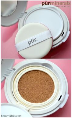 Pür Minerals Air Perfection CC Cushion Compact Foundation via @beautytidbits