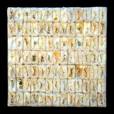 tangents - kathy miller | encaustic paper threads