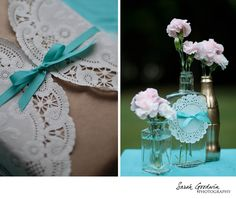 Diy Wedding Decoration Inspiration More On The Blog Lace Centerpieces