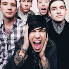 Sleeping with sirens: Kellin Quinn,Justin Hills, Gabe Barham, Jesse Lawson, Jack Fowler Music Is My Escape, Music Is Life, Emo Bands, Music Bands, Being As An Ocean, Bae, Love Band, Falling In Reverse, Mayday Parade