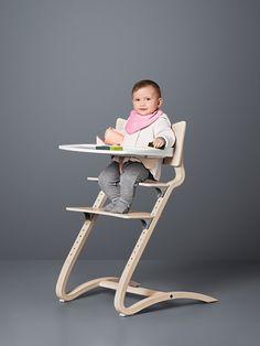 We love this CHAIR! Leander High Chair - Whitewash