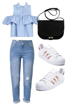 """2017 Read To Wear#6"" by victoriaswing on Polyvore featuring WithChic and adidas"