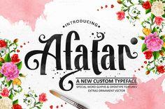 AFATAR ~ Display Fonts on Creative Market