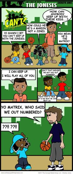 I Bet You Cant Keep Up With The Joneses Feat. Shawn & Dirk #DallasMavs Feature. (This is one of my latest comics episodes)