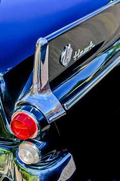 Car Tail Light Images by Jill Reger - Images of Tail Lights - Car Taillight Images - 1960 Studebaker Hawk Coupe Taillights And Emblem