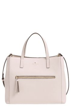 kate spade new york 'spencer court - tera' leather satchel (Nordstrom Exclusive) available at #Nordstrom