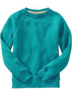 Boys Crew-Neck Fleece Sweatshirts