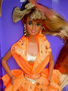 Teresa Hollywood Hair 1992 Barbie doll mattel by super.star.76, via Flickr
