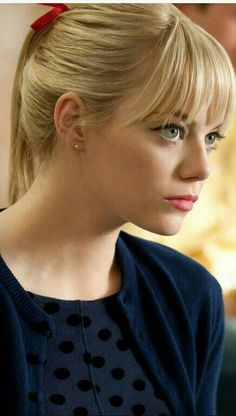 Beautiful Celebrities, Beautiful Actresses, Beautiful Women, Emma Stone Gwen Stacy, Spider Men, Emma Stone Blonde, Emma Stone Style, Actress Emma Stone, Hollywood Actress Photos