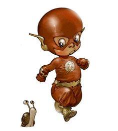 """""""Little Heroes"""", une série d'illustrations de bébés super-héros imaginés par le talentueux dessinateur français Alberto Varanda ! Dans la lignée de la s"""