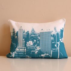 NYC Pillow   New York City Skyline   Loft Decor   nyc pillow   NYC travel  pillow   travel decor   city loft   urban decor   graffiti bd26bdf56