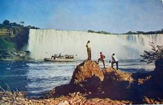 American Falls Circa 1950 American Falls, Niagara Falls, World, Places, Travel, Viajes, Destinations, The World, Traveling