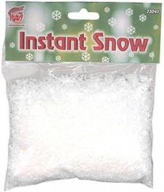 Artificial Snow was invented 11/13/1946 more or less....Did you snow, that you can send family or friends a little snow for Christmas? Or perhaps you would just like to make some some snow and add a real snowman to your front yard! FUN!
