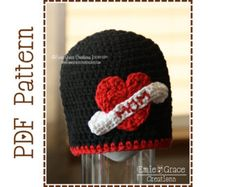 This is the Maddox Mohawk Ear Flap Hat crochet pattern. Three appliques in the pattern: skull and crossbones, winged heart and peace sign. All three are included for extra value! This hat is a must have for the cool funky kid in your life! It is perfect for boys and girls and all ages. {P A T T E R N • O N L Y}  - - - - - - - - - - - - - - - - - - - - - - - - - - - - - - - - - - - - - -  You are NOT purchasing a finished hat; you are purchasing a PDF file with instruction to crochet your…